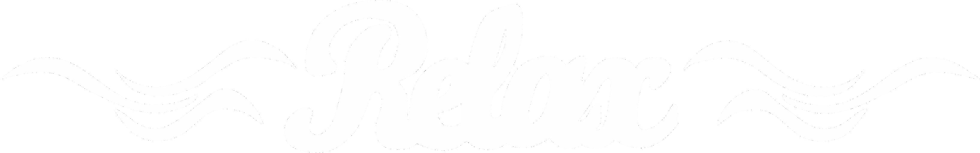 Privátní wellness RELAX - Velké logo - bílé